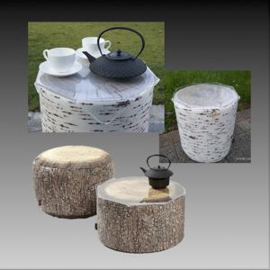 Location gamme FOREST TABLE POUF de Merowings